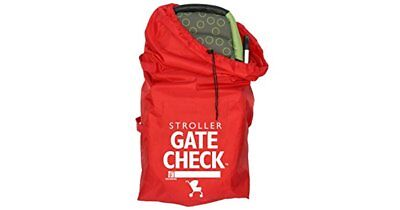 Childress Gate Check Bag for Stroller Red 42 x 24 Flat