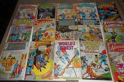 Old Dc Comic Lot Of 30 Issues Low Grade  Silver Age
