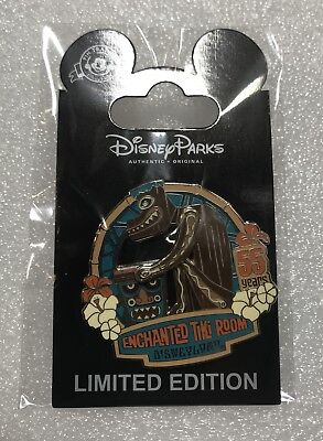 DISNEY 2018 Enchanted Tiki Room 55 Years Cast Member Pin LE 500!