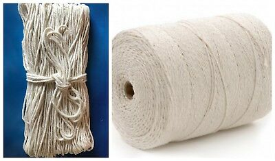 Beautiful Bakers 2mm 2 PLY Twine Cream  String Cord Gifts Crafts !! Food Safe !!