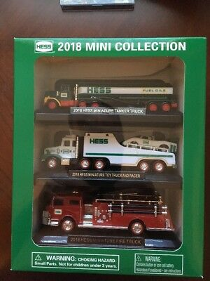 HESS MINI COLLECTION 2018 Truck Set