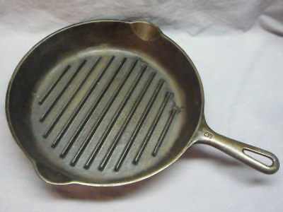 Griswold Cast Iron Grilling Pan #9 Y