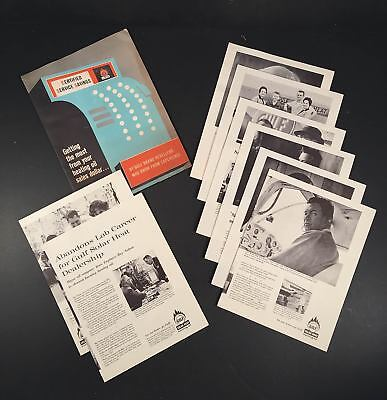 1950's GULF OIL CORP. SOLAR HEAT Heating Oil Reseller Promotional Folder/Sheets