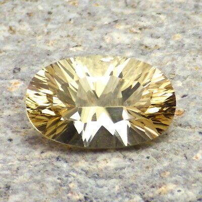 GOLDEN BERYL-BRAZIL 3.21Ct CLARITY VS1-NATURAL YELLOW GOLD COLOR-FOR JEWELRY!