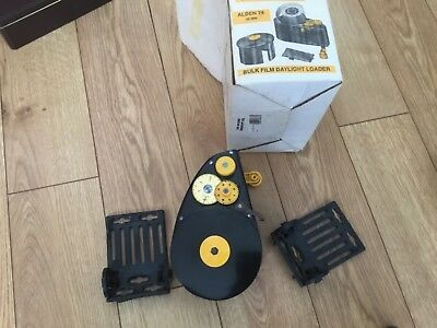 Alden 74 Bulk Film Daylight Loader 35mm in box with accessories