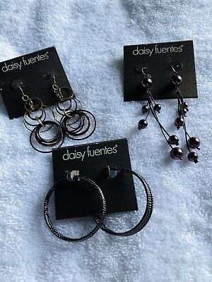 Assorted Daisy Fuentes Pierced Earring Lot