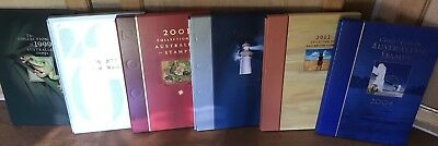 Australia Post 1999 - 2004 Collection Of Australian Stamps Albums Only No Stamps