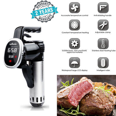 Sous Vide Precision Cooker Immersion Circulator Low Temperature Cooking 850W