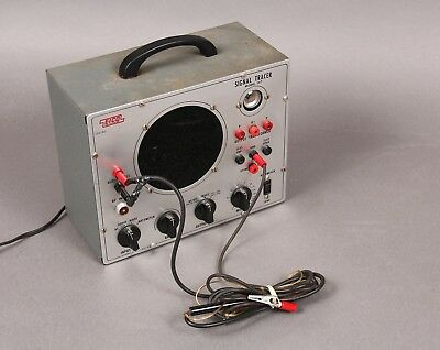 Vintage Eico Signal Tracer Model 147 with Ground and Probe Wires