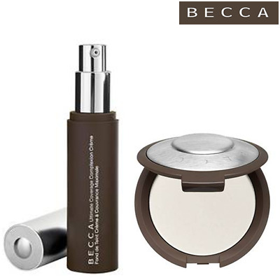 BECCA ULTIMATE COVERAGE Fondotinta Porcelain+ BLOTTING POWDER Translucent Cipria