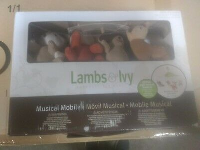 Lambs + Ivy Woodland Tales Musical Mobile