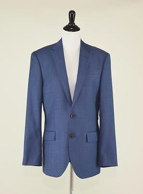 J.crew $425 Ludlow Italian Worsted Wool Suit Jacket 36R Harbor Blue Blazer 11707