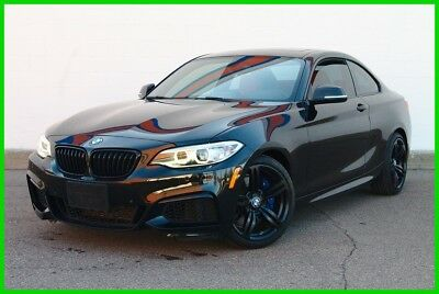 BMW 2-Series M235i Twin Turbo Coupe - Loaded - Only 22k Miles! 2015 BMW M235i TwinPower Turbo Coupe - LOADED - Black/Red - NO RESERVE
