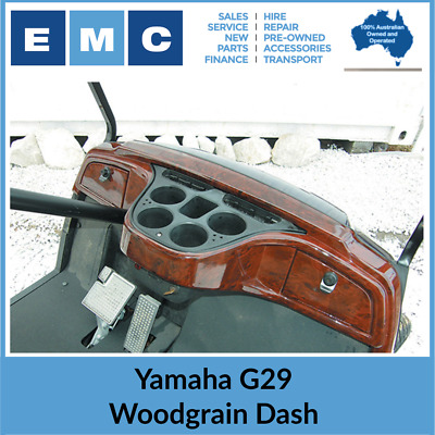 Yamaha G29 Golf Cart Dashboard, Wood Grain Finish