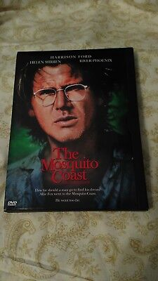THE MOSQUITO COAST- DVD - 1986  Harrison Ford  River Phoenix MOVIE
