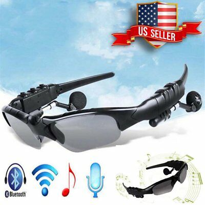 Lot Sunglasses Bluetooth Wireless Stereo Headset Rechargeable headphone Glasses