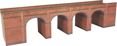 N Scale Metcalfe Red Brick Viaduct - PN140