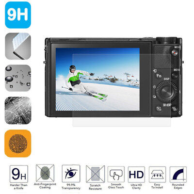 LCD Screen Protector Tempered Glass Shield Guard Film for SONY A5000 A6000 A6500