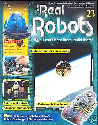 Ultimate Real Robots Mag. - Issue 23 - Camera in Space