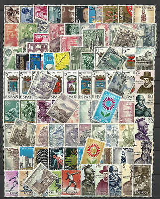 SPAIN 1964 COMPLETE YEAR STAMP COLLECTION Values Mint Never Hinged