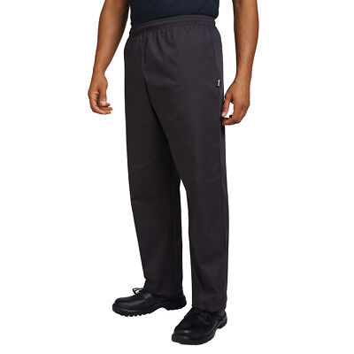 Dennys AFD Chefs Trousers Kitchen Workwear Pants Cooks Elasticated Waist (DC15)