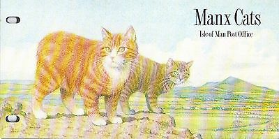 ISLE OF MAN Presentation Pack 1989 MANX CATS