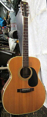 "c1960's SSS ""CLEAR SOUND"" acoustic guitar , made in Japan - full size"