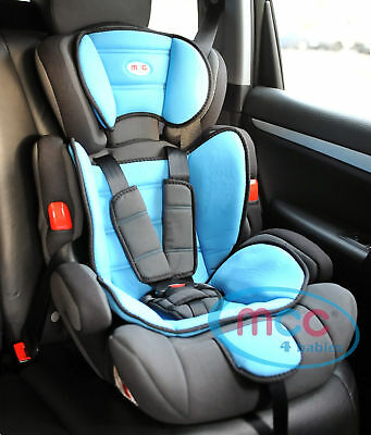 Mcc 3in1 Convertible Child Baby Car Seat Safety Booster Group 1/2/3 9-36 kg
