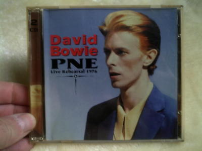 David Bowie CD double P N E live rehearsal 1976 sttp 084/085