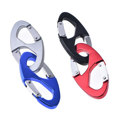 S type backpack clasps climbing carabiners edc keychain camping bottle hook SE