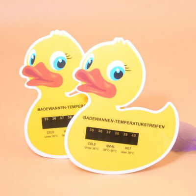 Floating Duck Bath Safety Measure Thermometer Baby Toddler Temperature Monitor