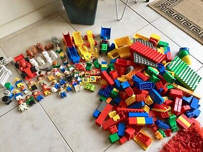 Mixed Bulk Lot Lego Duplo Trains People Racing Car Animals Just Over 4kg