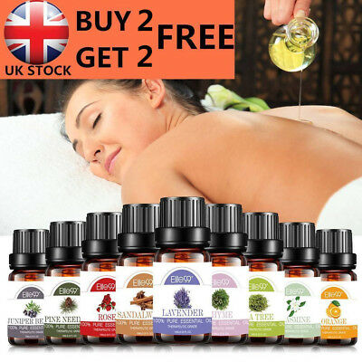 Aromatherapy Essential Oils 100% Natural Pure 10ml Essential Oil 38+ Fragrances