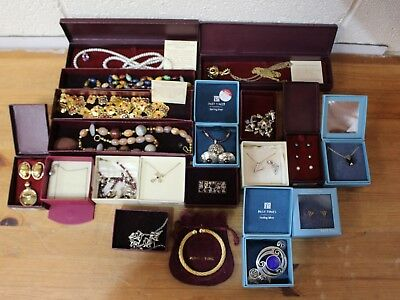 HUGE Job Lot of PAST TIMES BOXED Jewellery Necklaces, Bracelets Ear Rings - 250