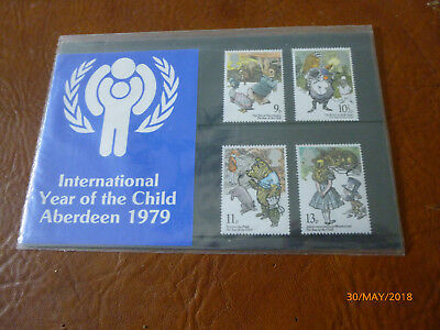 GB Stamps QE Aberdeen Presentation Pack International Year of the Child 1979