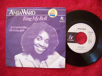 Anita Ward - Ring my bell / If I could feel that old.......German 1. Auflage 45