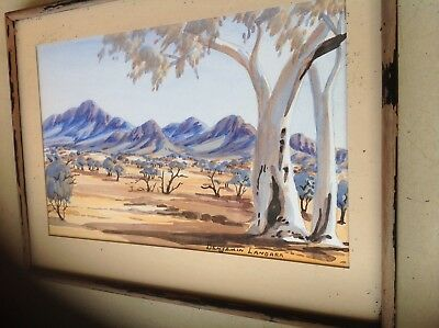 Benjamin Landara Original Watercolour Panti