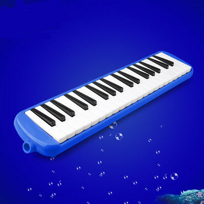D01 37 Piano Keys Blue Musical Instrument Melodica Pianica With Carrying Bag O