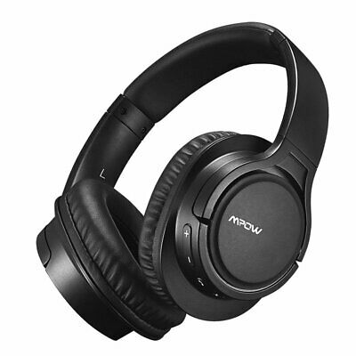 Mpow WIRELESS & WIRED Headset Bluetooth Headphones Over Ear with Microphone MP