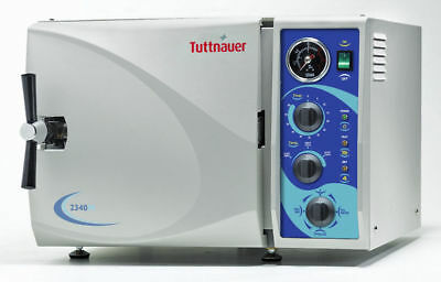 UNMATCHED 5 YR WRNTY!  Tuttnauer 2340M Autoclave BRAND NEW
