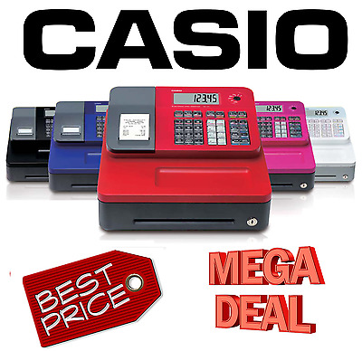 New Casio SE-G1 Cash Register Till Telephone support Optional Rolls SEG1 SE G1