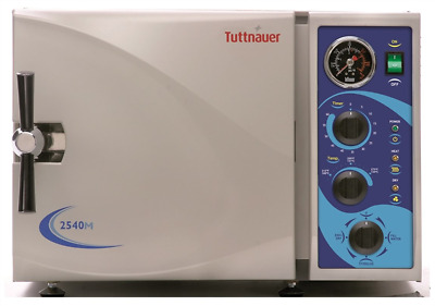 UNMATCHED 5 YR WARRANTY! Tuttnauer 2540M Manual Autoclave - BRAND NEW