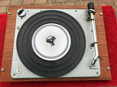 Rare Hammerite B&O Bang & Olufsen turntable with SP14 cartridge & stylus
