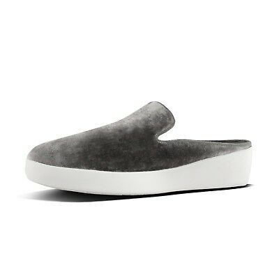 a26705538f9c FITFLOP WOMENS SUPERSKATE Mules In Velvet   5 M -  44.99