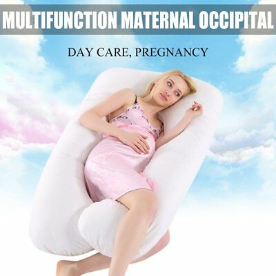 Full Body Pregnancy Pillow - Maternity Pillow for Pregnant Women with Zip Cover