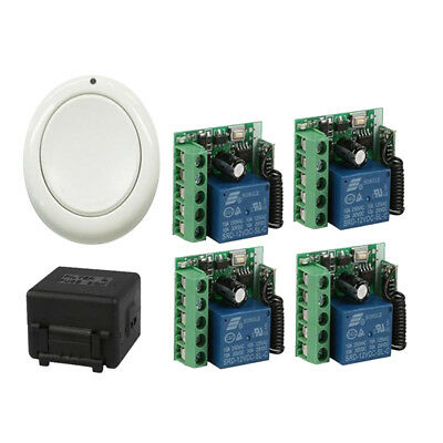 Wireless Remote Control Switch DC 12V 1CH Relay Receiver & RF Transmitter