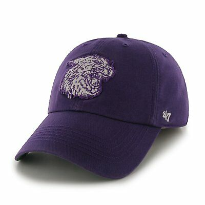 new product df92e 2b759 Kansas State Wildcats Fitted Hat  47 NCAA Franchise Purple Size Small Nice  NEW