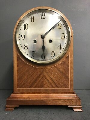 Junghans Impressive Large Domed Chiming Bracket/Mantle Clock –circa 1900