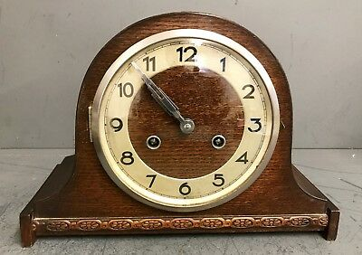 German Wittenberg ANTIQUE ART DECO STRIKING MANTEL CLOCK
