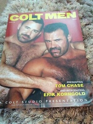 GAY -COLT_ Glossy Magazine. Gay Adult Hairy Leather Daddy Magazine. VINTAGE